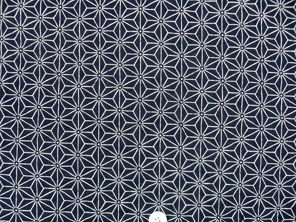 江戸ッ子オリジナル むら糸和柄のキルティング 麻の葉 1171-32