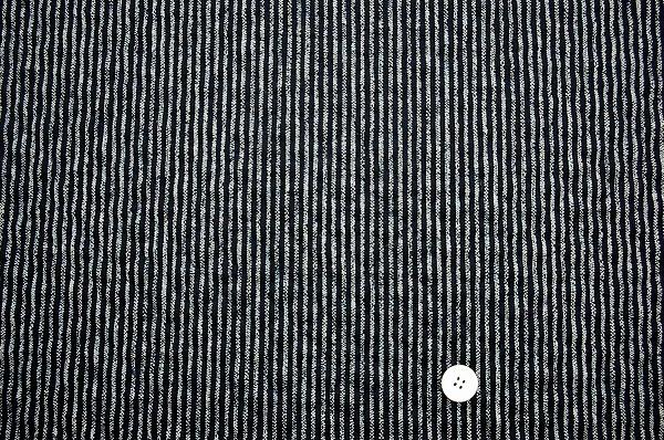 江戸ッ子オリジナル むら糸和柄のキルティング 縞