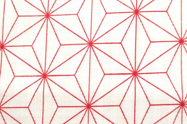 有輪商店の コットンシーチング 花舞物語 蝶の柄 からし