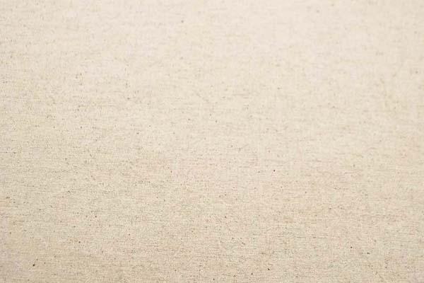 柔らかくて適度な厚さのある 綿麻キャンバス ワッシャー(洗い)加工 生成