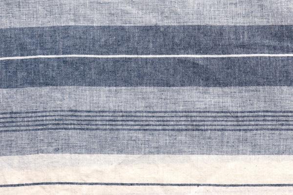 ワッシャー加工の綿麻ランダムボーダー生地