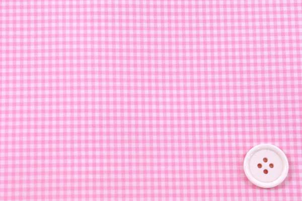 撥水加工のポリエステルタフタ ギンガムチェック ピンク