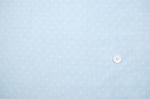 Wガーゼ(ダブルガーゼ)水玉柄(ドット柄) 水色(ライトブルー)(2164-52)