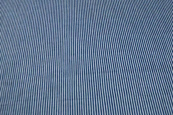 Wガーゼ(ダブルガーゼ) デニム調 ヒッコリー風 ブルー