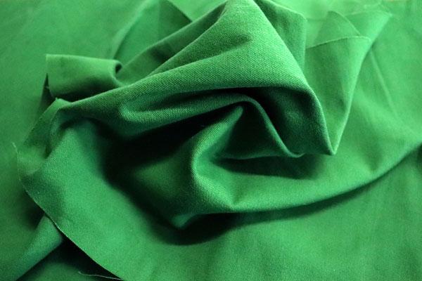 運動会やイベントなどに使える広い巾の布 228cm巾のオックスフォード 緑・グリーン