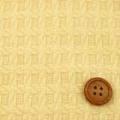 ウール千鳥小格子ジャガード 服地 イエロー 【お値打ち】 【50cm販売】  (4135-07)