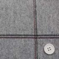 ウールウインドペーンツイード服地 ライトグレイ 【50cm販売】  (4140-23)