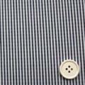 ストライプサッカー服地 白×紺 《お値打ち品》 (4141-40)