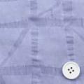 塩縮サッカープリント服地 チェック柄 うす紫 《お値打ち品》 (4141-93)