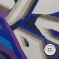 シフォンジョーゼットプリント服地 幾何柄 紫系 《値打ち品》 (4142-36)