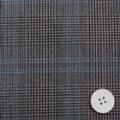 ストレッチグレーンチェック服地 濃いグレイ (4142-72)