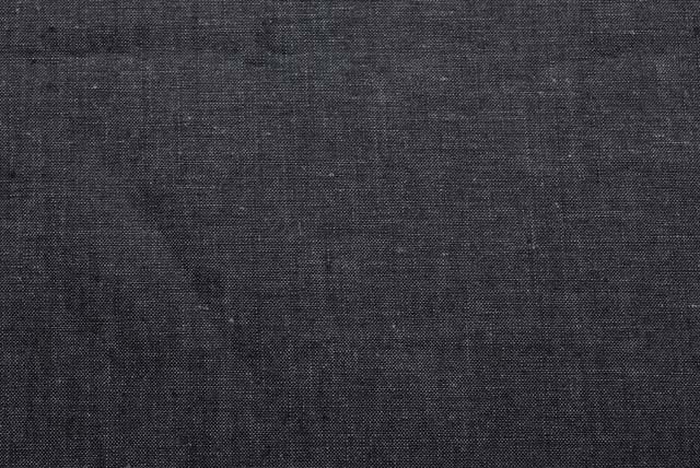 アイリッシュリネン服地 濃いグレイ 【50cm販売】 《お値打ちです》  (4145-15)
