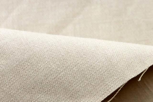 ストレッチ麻紺服 ベージュ  (4145-74)