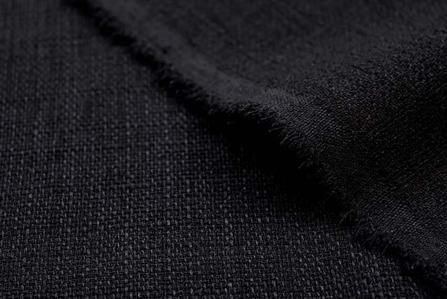 フォーマルブラック ブッチャークロス 黒 【50cm販売】  (4149-44)
