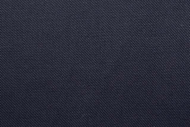 イタリア製高密度コットンギャバ 紺 【50cm単位】 《凄安》  (4149-69)