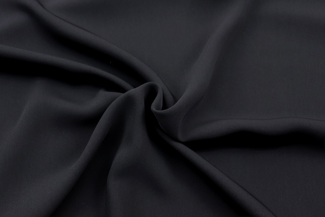 フォーマルブラック ダブルクロス 黒 【50cm販売】  (4149-87)