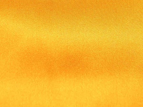 ポリエステルサテン ハロウィンイエロー(オレンジ)