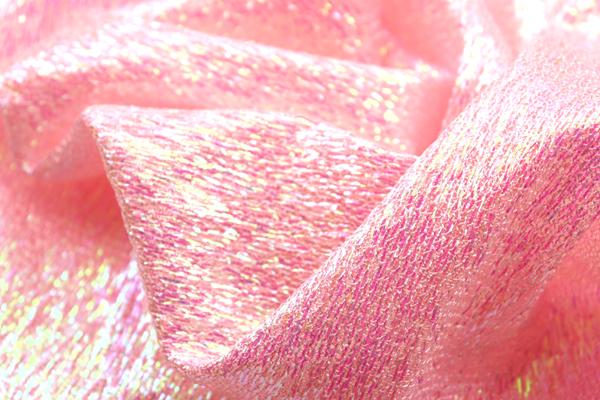 1WAYラメネット ピンク