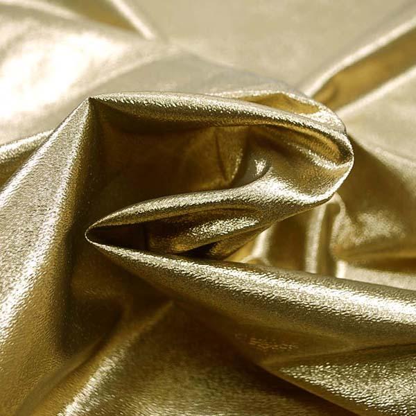 よさこいや衣装やディスプレイに最適な ラメ シャンブレー ゴールド(ゴールド糸×ブラック糸)