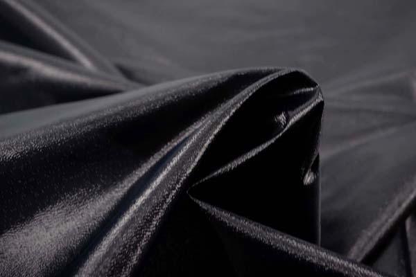 よさこいや衣装やディスプレイに最適な ラメ シャンブレー ブラック(ブラック糸×シルバー糸)
