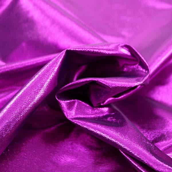 よさこいや衣装やディスプレイに最適な ラメ シャンブレー パッションピンク(パッションピンク糸×ブラック糸)