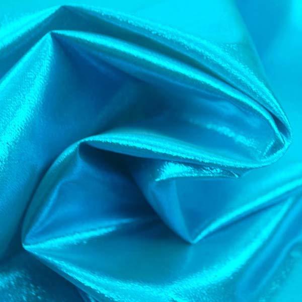 よさこいや衣装やディスプレイに最適な ラメ シャンブレー リッチブルー(スカイブルー糸×イエロー糸)