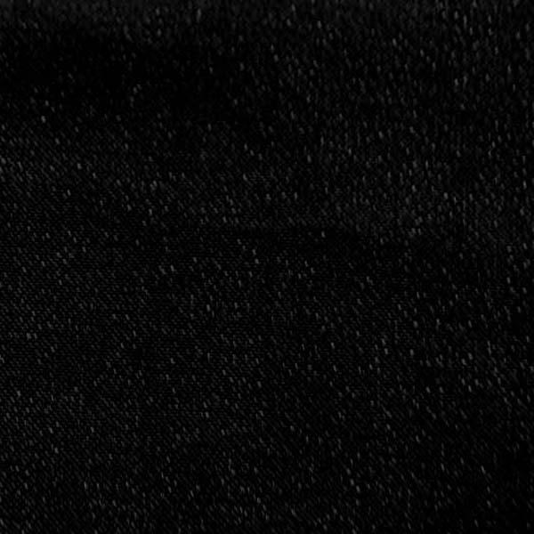 衣装やディスプレイに最適な ハイクオリティなラメ シャンブレー ブラック(ブラック糸×ブラック糸)