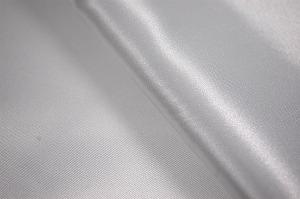 ポリエステル・サテン生地 白色・ホワイト(6603-01) メーカー生産終了のため現物のみとなります