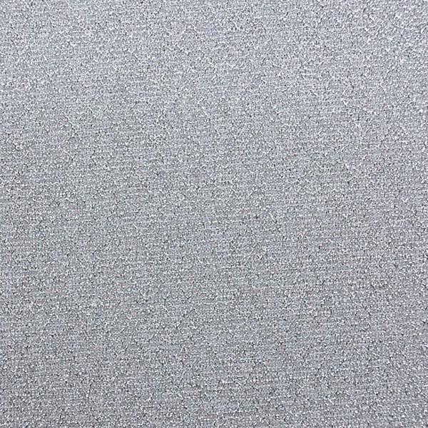 キラキラ 衣装に最適な生地 ラメ入りニット シルバー(白)