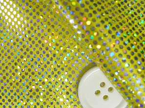 ロイヤルスムース 衣装生地 ダンス衣装生地 黄色(6635-03)