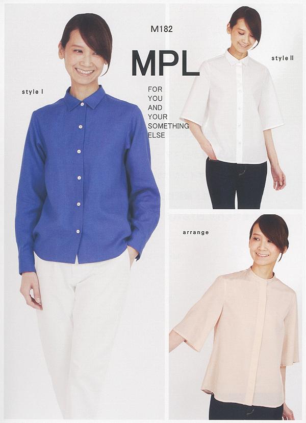 ストレートシャツ(M182)