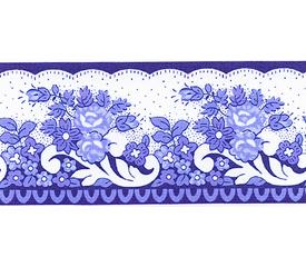 SOULEIADO ソレイアード ナチュラル系 小花柄の ギャロンテープ ラ・ピチューヌ(水色・青色)(SLF21-D)