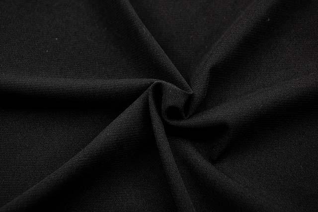 パワーネットニット生地 黒 【50cm単位】《値下げ》 (la612)