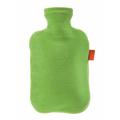 湯たんぽ-FASHY6712GRベロア(グラス)
