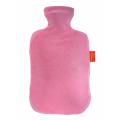 湯たんぽ-FASHY6712PK ベロア(ピンク)
