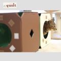 猫ジムBX2(キャットタワー)-ペット用品