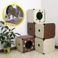 猫ジムS(キャットタワー)-ペット用品