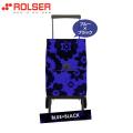 ロルサー(ROLSER)ショッピングカート・オルビータ・フラワー45L(ブルー・ブラック)