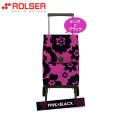 ロルサー(ROLSER)ショッピングカート・オルビータ・フラワー45L(ピンク・ブラック)