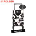 ロルサー(ROLSER)ショッピングカート・オルビータ・フラワー45L(ホワイト・ブラック)