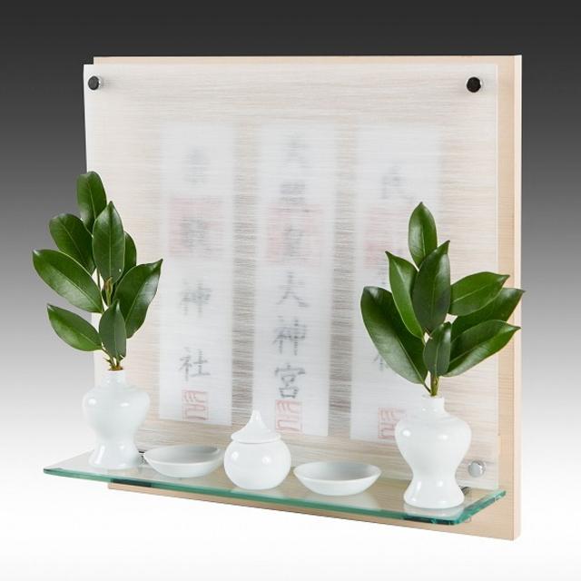 神棚 モダン リビング 壁掛け Neo 110-G ヒノキ 檜