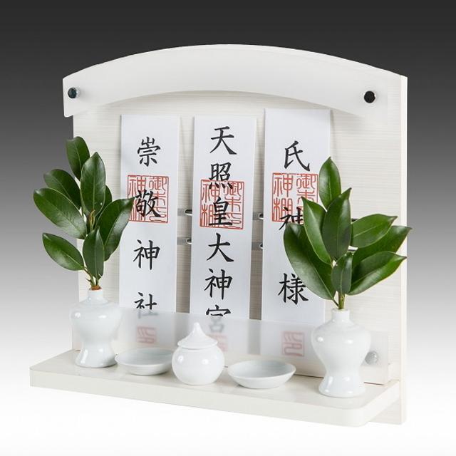 神棚 Neo 310-W パールホワイト 壁掛けタイプ 標準サイズ
