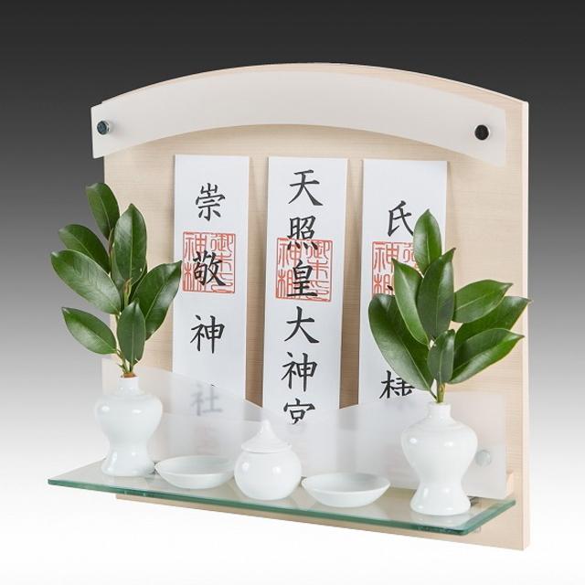 神棚 Neo 410-G ヒノキ 壁掛けタイプ 標準サイズ