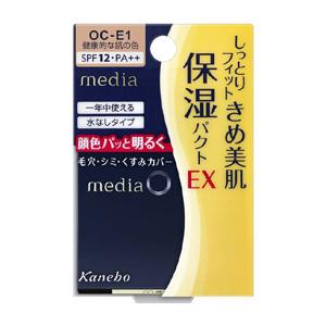 カネボウ メディア モイストフィットパクトEX OC-E1 健康的な肌の色 (パウダーファンデーション)