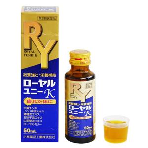 【第2類医薬品】小林薬品 ローヤルユニーK 50mL×12本