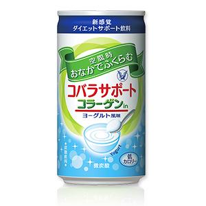 大正製薬 コバラサポート コラーゲンin ヨーグルト風味 微炭酸 185ml×30本(1ケース)