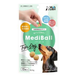 Vet's Labo MediBall メディボール 犬用 ササミ味 15個入り (投薬補助おやつ)