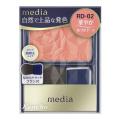 カネボウ メディア ブライトアップチークN RD-02 (チークカラー)