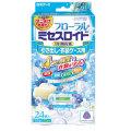 白元アース フローラル ミセスロイド 引き出し用24個入 1年防虫 ホワイトアロマソープの香り