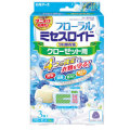 白元アース フローラル ミセスロイド クローゼット用3個入 1年防虫 ホワイトアロマソープの香り